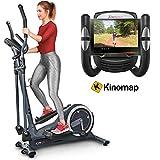 Sportstech Vélo elliptique CX625 ergomètre Compatible avec Application Smartphone, Poids d'inertie de 24 KG, 22...