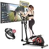 Sportstech CX608 Crosstrainer pour maison   Événements vidéo & application multijoueur & console Bluetooth   Vélo...