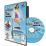 TV Top Ventes 00178 Power Maxx Fitness Trampolin Professional DVD d'exercices d'entraînement Langue allemande