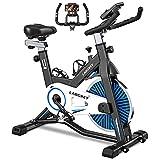 LABGREY Vélo d'Appartement Vélo de Spinning Vélo de Fitness Vélo d'Exercice d'intérieur avec Ecran LCD Silencieux...