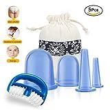 Ventouse Anti-Cellulite, Kuyang 5 PCS Ventouse Cellulite Minceur Roller Minceur Silicone Massage Cups, Anti-âge,...