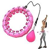 Bluefire Hula Hoops Fitness,Cerceau de Fitness Réglable et Détachable,24 Nœuds Fitness et de Perte de Poids Massage...