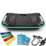 Bluefin Fitness Plateforme Vibrante et Oscillante 4D Triples Moteurs Silencieux Idéal pour Fitness et Musculation |...
