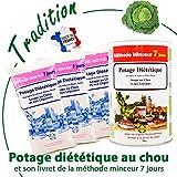 84 Shake Soupe Minceur au Chou Brûle Graisse | Perte de Poids Rapide et Durable | Contrôle de l'Appétit | 900 g...
