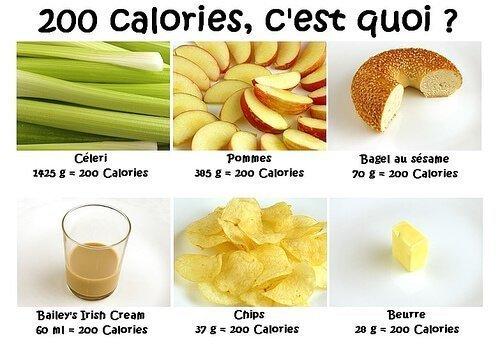 Garder sa ligne gr ce une bonne nutrition - Calculer les calories d un plat ...