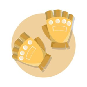 les gants de fitness