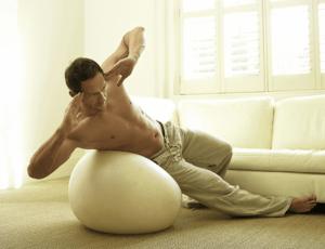 toning ballon de gym