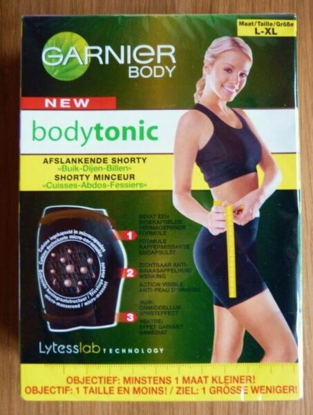 Shorty minceur bodytonic GARNIER