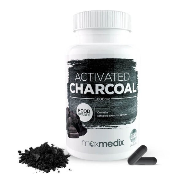 Activated Charcoal - Charbon Végétal Actif