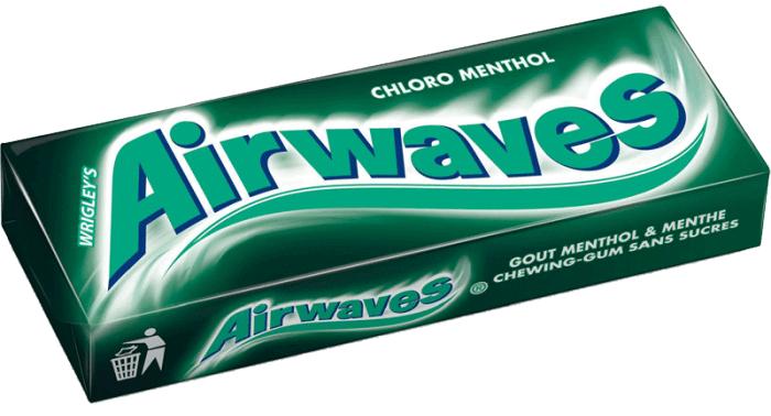 chewing gum sans sucre menthol 1
