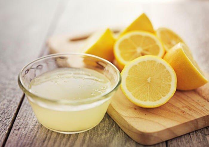 Jus minceur au citron