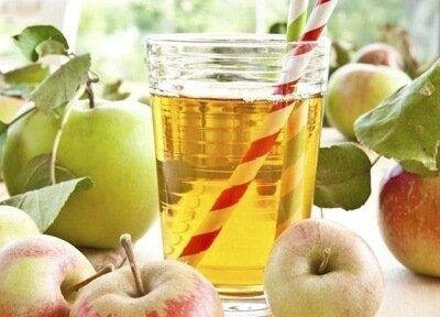 jus minceur aux pommes