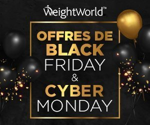 Bons Plans Black Friday chez WeightWorld